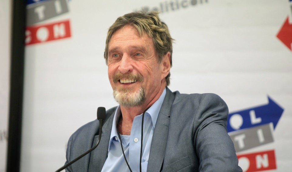 John McAfee Charges Over $100,000 Per Crypto Tweet