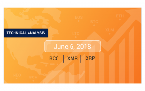 Bitcoin Cash, Monero and Ripple Price Analysis